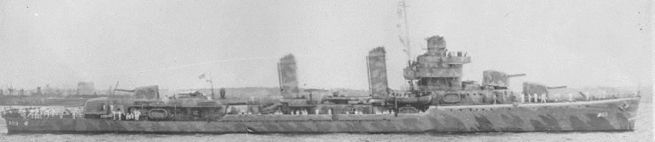 USS Murphy DD 603